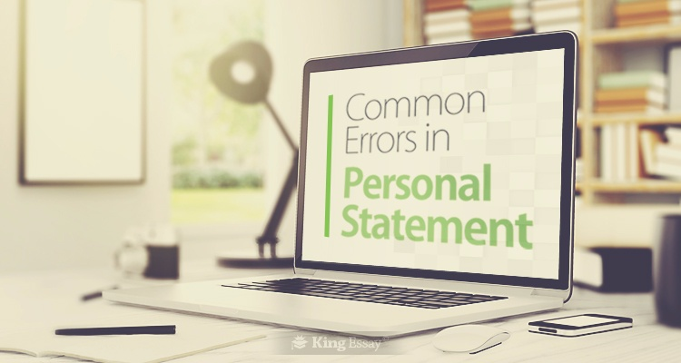 Common Errors in Personal Statement