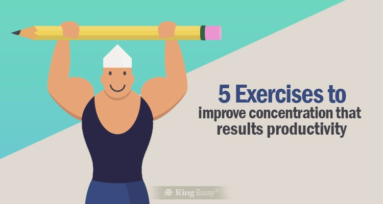 Exercises to Improve Concentration That Results Productivity