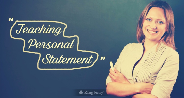 Teaching Personal Statement